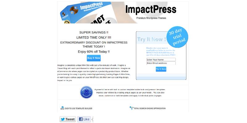 ImpactPageBuilder Lite