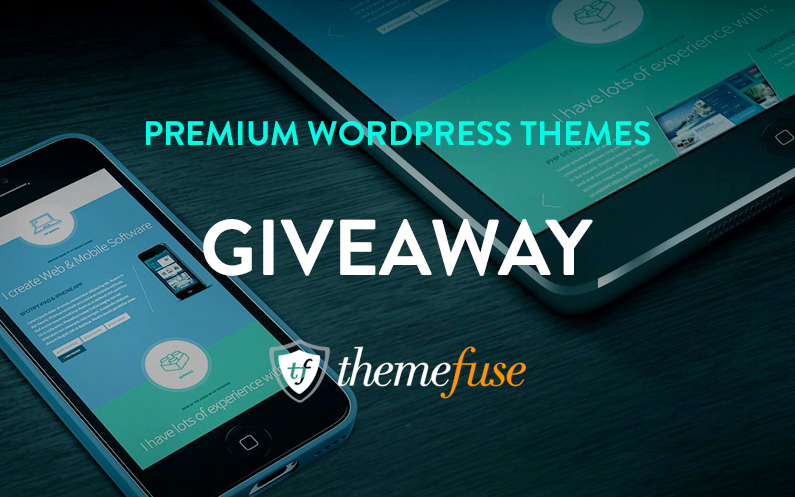3 Premium WordPress Themes from ThemeFuse – Get in the Giveaway