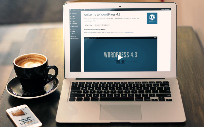 Easy WP Guide for WordPress 4.3 is Released